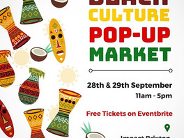 Streetgreets to be @Black Culture Market -Impact Brixton 28.09.19