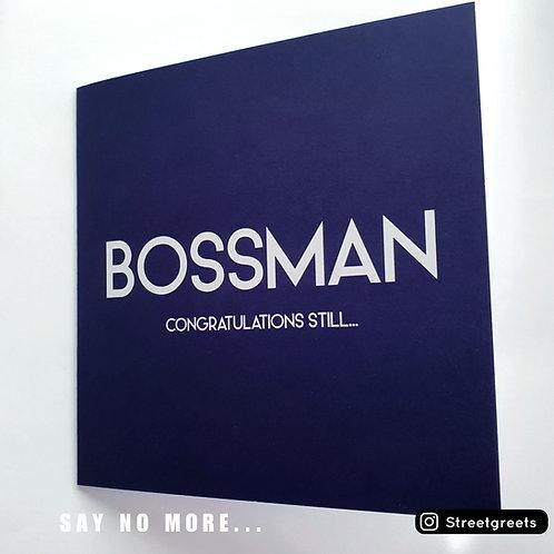 BOSSMAN CARD