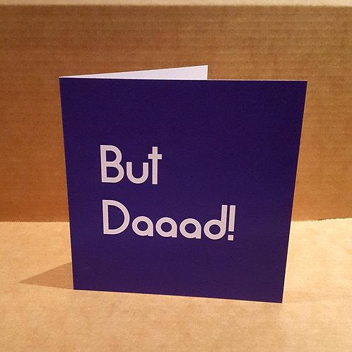 BUT DAAAD CARD