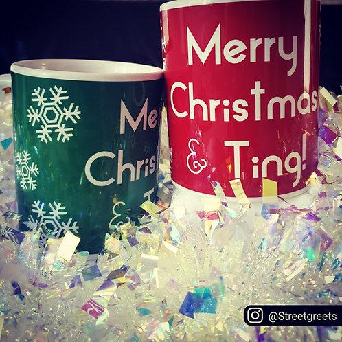 MERRY CHRISTMAS & TING MUG