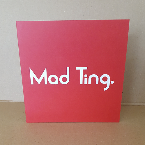 MAD TING CARD