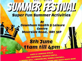 Streetgreets@Health and Wellbeing summer festival 08.06.19