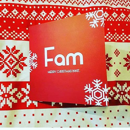 FAM MC CARD
