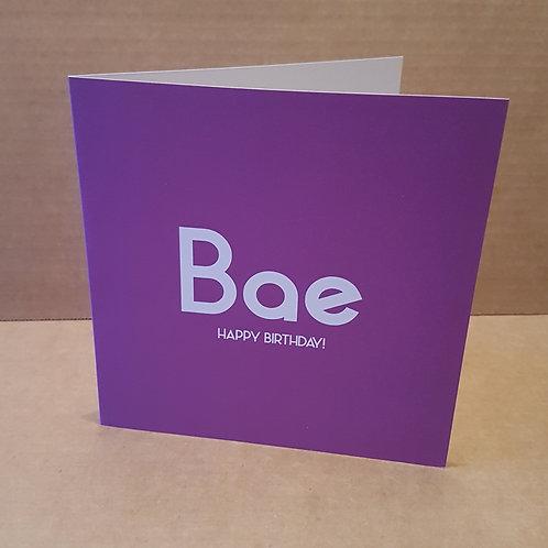 BAE HB CARD