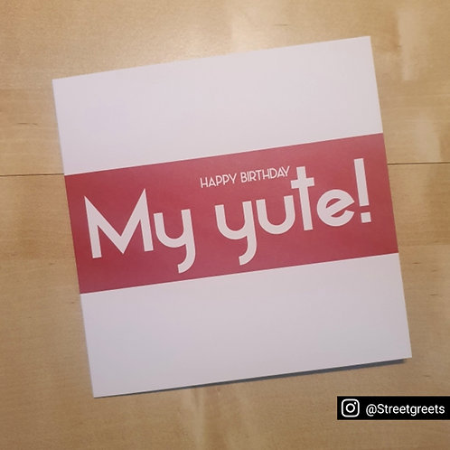 MY YUTE HB CARD