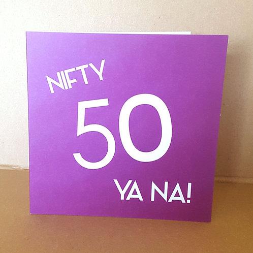 50 YANA CARD