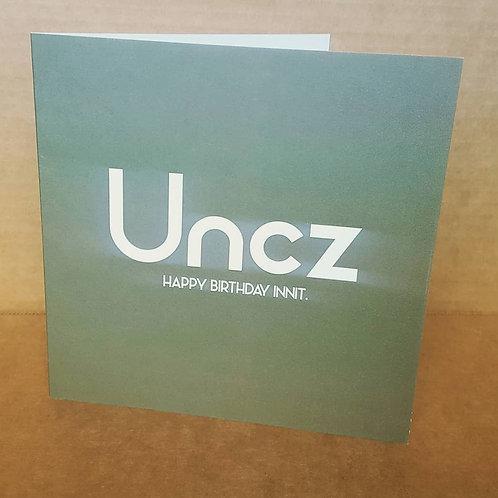 UNCZ HB CARD