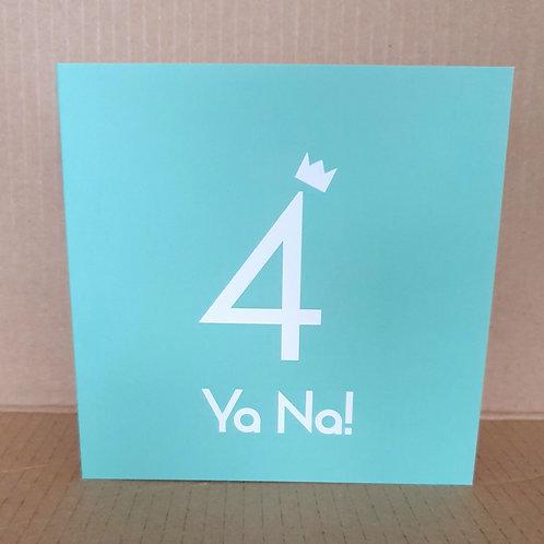 4 YANA CARD