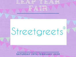 Streetgreets to be @Party Supplies UK Leap Year Fair!