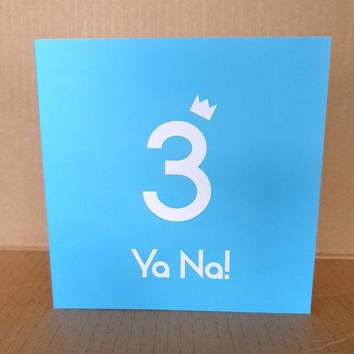 3 YANA CARD