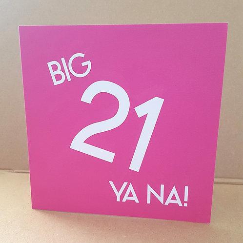 21 YA NA CARD