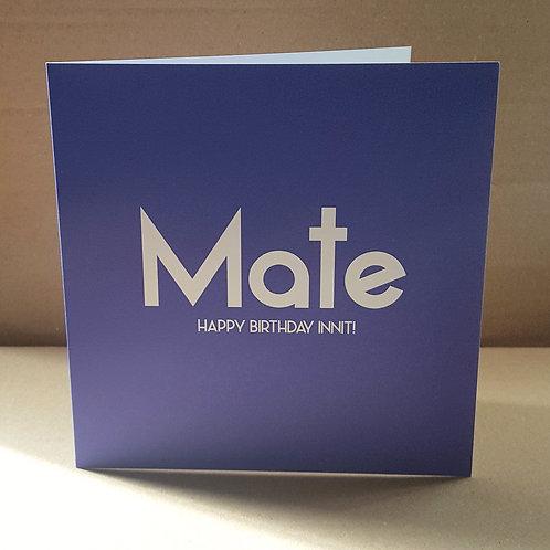 MATE HB CARD