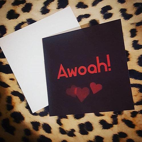 AWOAH CARD