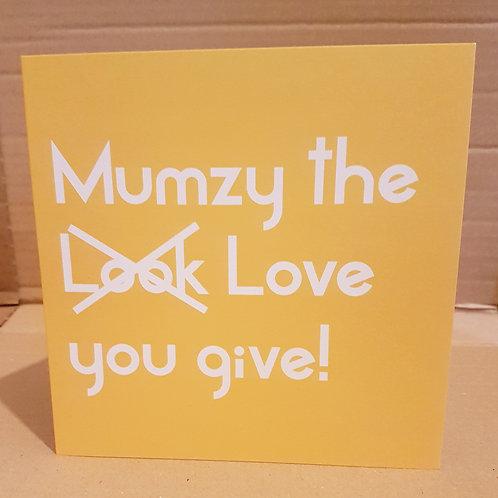 MUMZY CARD