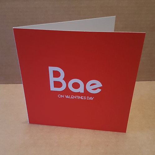 BAE VALENTINES CARD