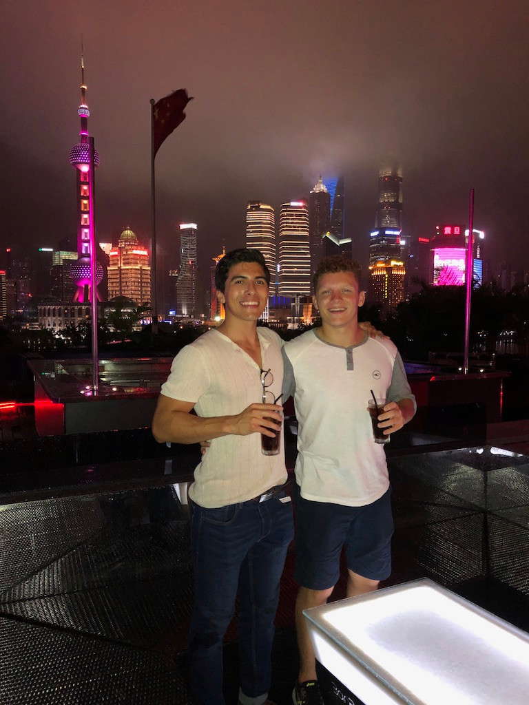 China. The Bund. Shanghai. Cannon Cooley.