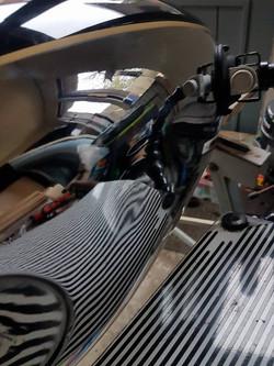 BSA Motor Bike Tank