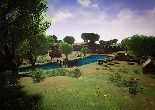 Fantasy Village - Screenshot 1