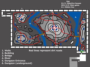 Fantasy Village Level Plan
