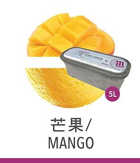 梅諾卡 - 5公升雪酪 - 芒果