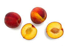 Cut Peaches