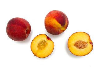 Cut Pfirsiche
