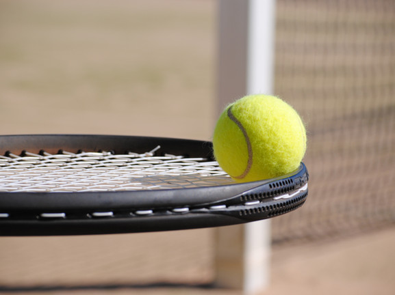 Tennis courts close by