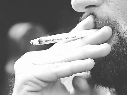 Smoking is not the Aim