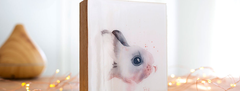 Petey the Bunny Artblock