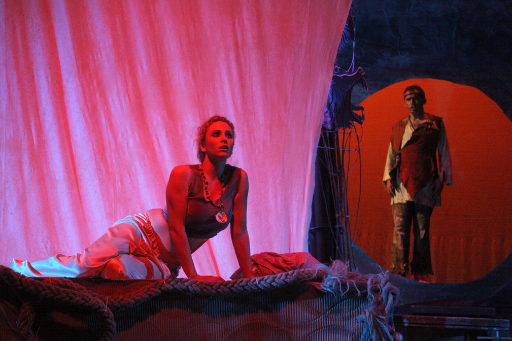 Leila in The Pearl Fishers