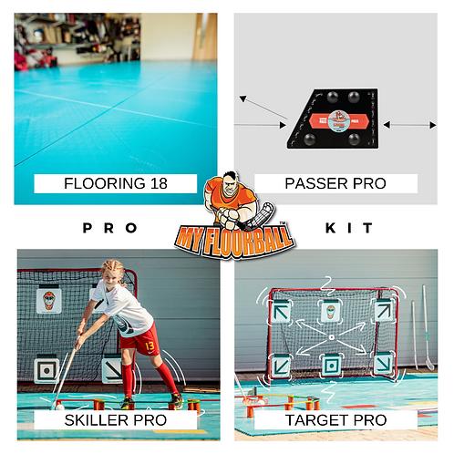 PRO KIT: PASSER PRO+TARGET PRO+SKILLER PRO+FLOORING18