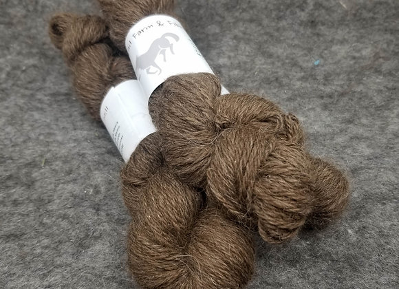 Alpaca/Merino (90/10) Blend -Moose Brown-
