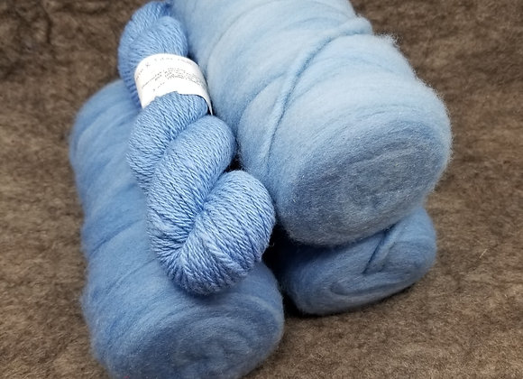 Chernofski Roving - Cornflower Blue -