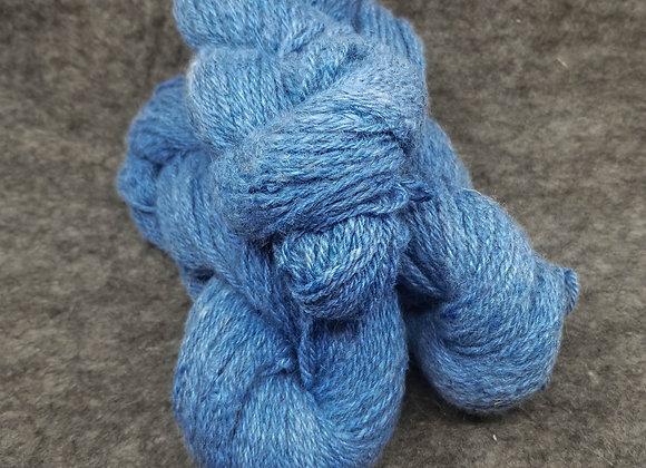 Alpaca/Cormo 50/50 Blend -Light Cornflower Blue-