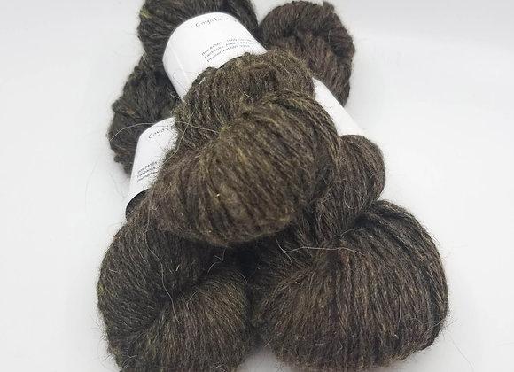 Llama/Merino Blend -Moss Green-