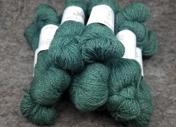 Qiviut Pearl Blend-Forest Green-70% qiviut