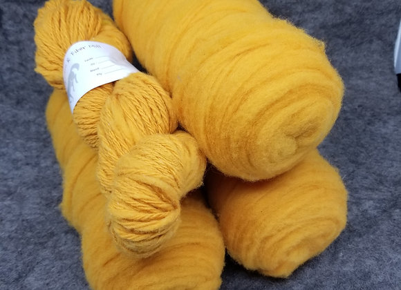 Chernofski Roving - Butternut Squash Yellow -