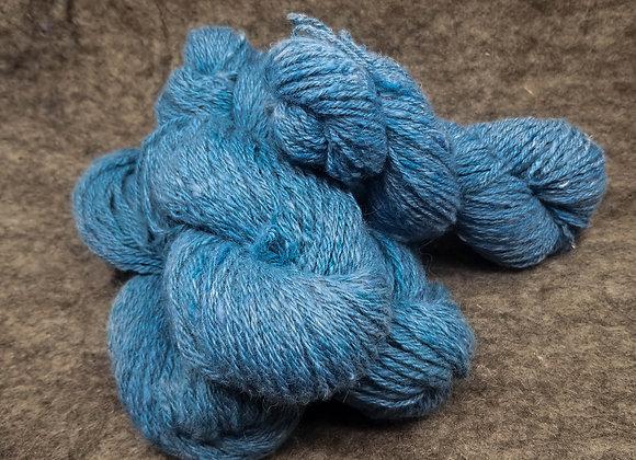 Alpaca/Cormo 50/50 Blend -Teal-