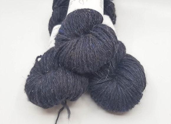 Llama/Merino Blend -PopArt Blue-