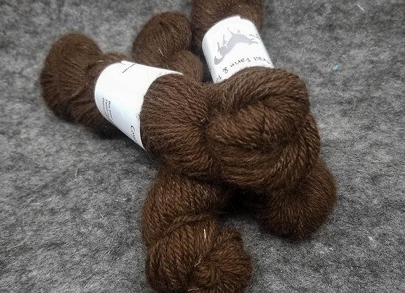 Alpaca/Merino (90/10) Blend -Dark Chocolate Brown-
