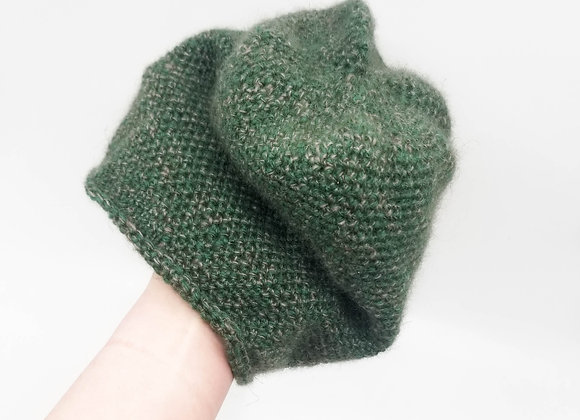 Forest Green Qiviut Hat