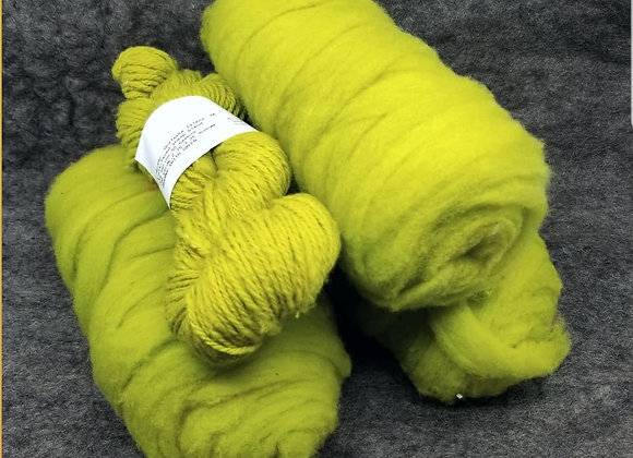 Chernofski Roving - Granny Smith Green -
