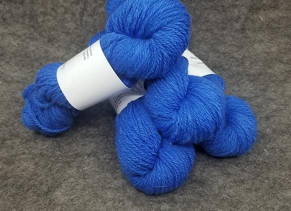 100%  Merino -Sapphire Blue-