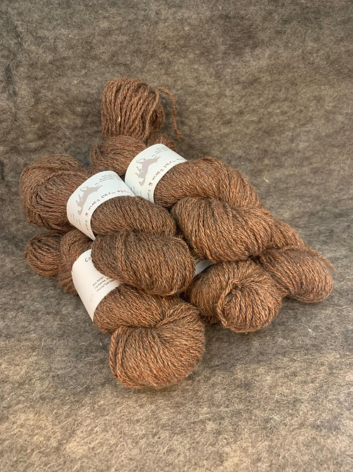 Brown & Red Shetland Sparkle Blend