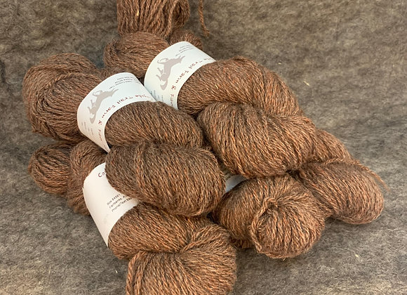 Shetland Sparkle Blend -Brown and Red-