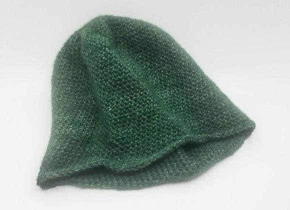 Emerald Green Qiviut Hat