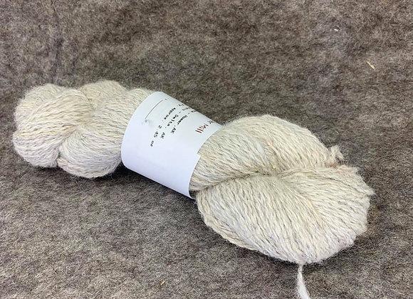 Alpaca/Icelandic 50/50 Blend -WHITE-