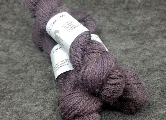 Alpaca/Merino (90/10) Blend -Purple Fog-