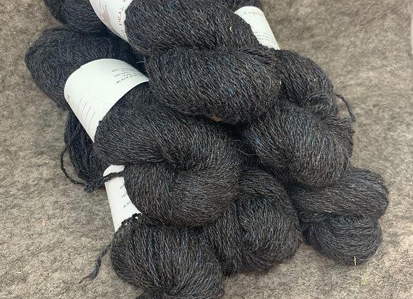 Shetland Sparkle Blend -Black with Blue-