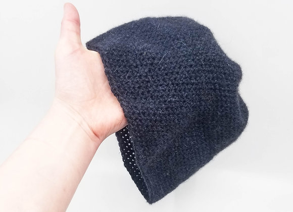 Blue B-Grade Qiviut Hat